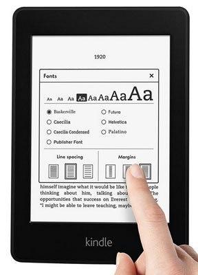 Personalización libro electrónico
