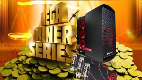 Mega Miner, la gama de PCs de CyberPowerPC para minar monedas criptográficas.