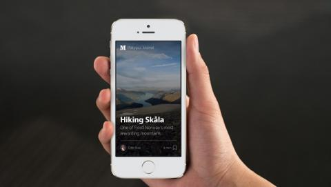 Medium app para iPhone