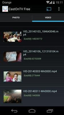 CastOnTV Free Chromecast
