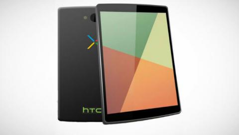 Diseño concepto Google Nexus 8.9 por HTC