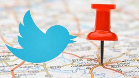Localización de Twitter