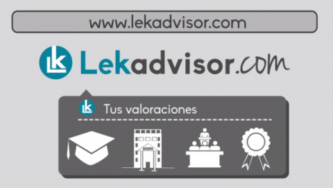 Nace Lekadvisor, la web imprescindible para los estudiantes