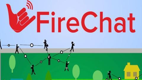 FireChat, app de mensajería instantánea