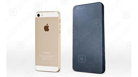 Se filtra un supuesto molde de la carcasa del iPhone 6, para fabricar fundas, que revelaría su aspecto final.