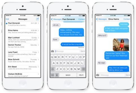 mensajes de iOS 8