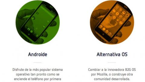 Android y Boot2Gecko