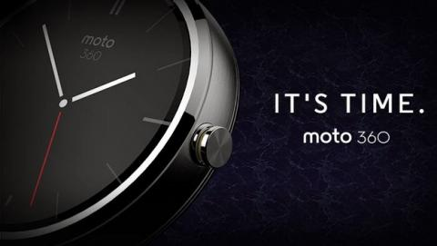 Smartwatch Moto 360, espectaculares fotos y nuevos datos del reloj inteligente de Motorola, con correas intercambiables y pantalla de zafiro.
