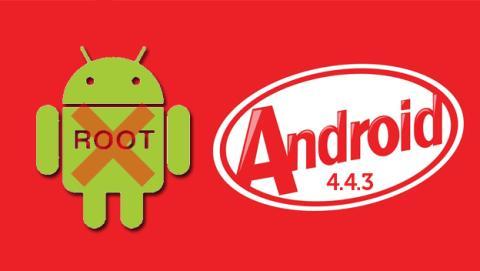 La actualización Android 4.4.3 podría evitar el acceso root