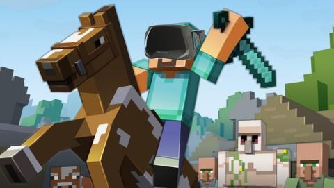 Minecraft para Oculus Rift cancelado, sus creadores no se fían de Facebook