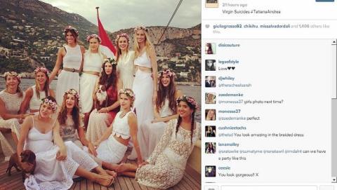 Boda en Instagram, Redes sociales