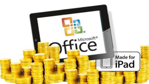 Apple se lleva una tajada de Office para iPad