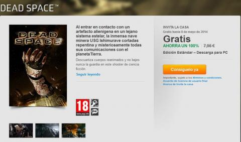 Dead Space gratis