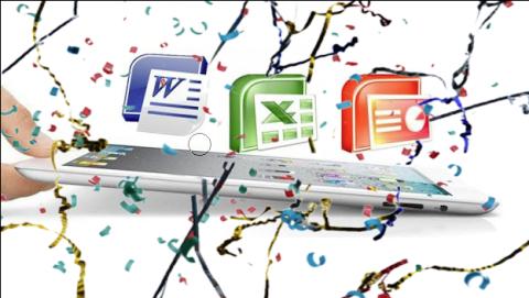 Microsoft Office para iPad lidera las descargas de App Store