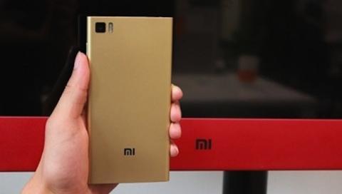 Aparecen nuevas imágenes del Xiaomi Mi3 de color dorado