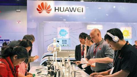 Huawei cifra récord para 2018