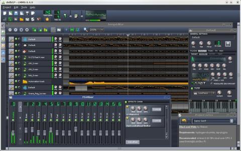 Linux Multimedia Studio pone la creación musical a tu alcance
