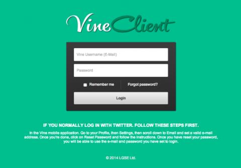 VineClient