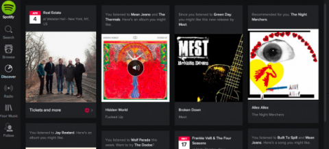 Spotify cambia su diseño
