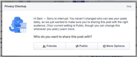 ¿Qué significa el nuevo aviso del dinosaurio de Facebook?