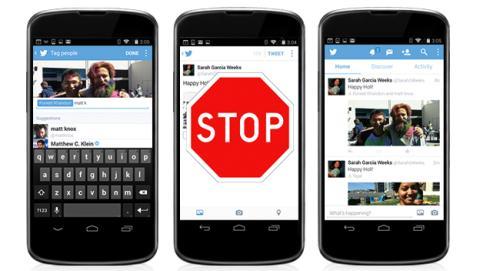 Cómo evitar que te etiqueten en fotos de Twitter