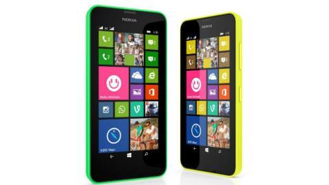 Nokia Lumia 630, Nokia Lumia 635