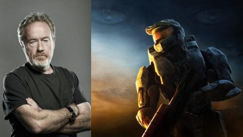 Ridley Scott trabaja en un proyecto digital de Halo para Microsoft