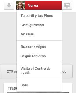 Perfil Pinterest