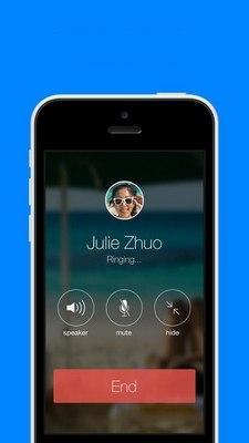 Facebook con llamadas de voz