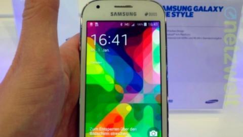 Samsung Galaxy Ace Style, un smartphone de gama baja con Android 4.4 KitKat