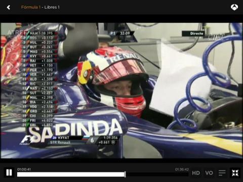 Dónde ver online GP Bahrein F1 2014