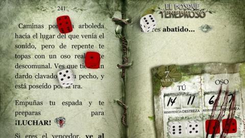 Los librojuegos de la saga Fighting fantasy, como El Bosque Tenebroso, ya disponibles en español, como una app para iOS y Android