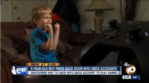 Niño de 5 años hackea xbox live