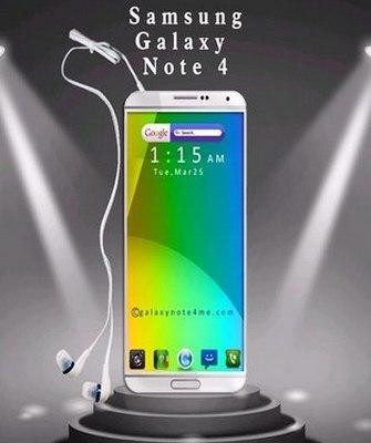 Samsung Galaxy Note 4. Diseño conceptual