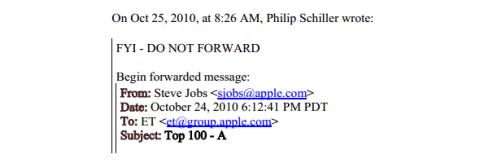 email secreto jobs