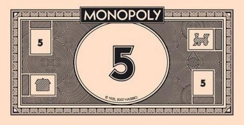 Billetes Monopoly imprimir gratis