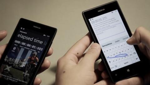 Joven de 15 años bate récord Guiness al teclear un SMS en 18,44 segundos con el teclado Word Flow de Windows Phone 8.1