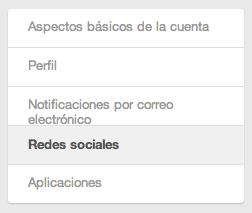 Redes sociales Pinterest