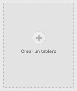 Crear tablero Pinterest