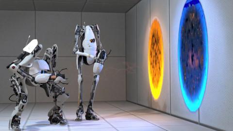 Juegos tan divertidos y populares como Portal 2 están disponibles para Linux
