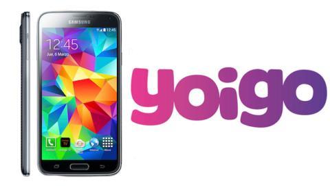 Tarifas y precio del Samsung Galaxy S5 con Yoigo