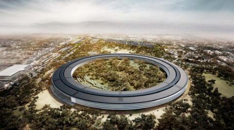Futura sede central de Apple