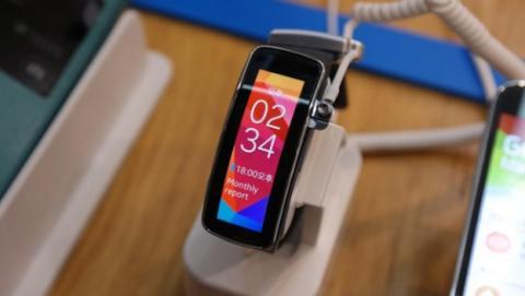 Samsung Gear Fit tiene nueva orientación