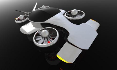 Helikar, el coche inteligente volador