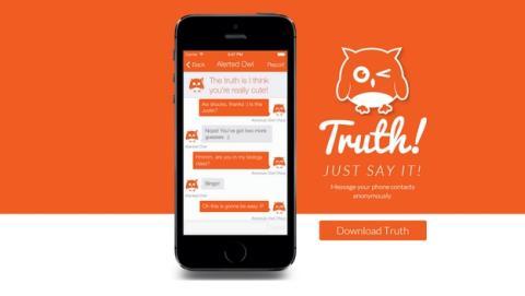Truth!, la app de iOS para enviar mensajes anónimos a tu lista de contactos