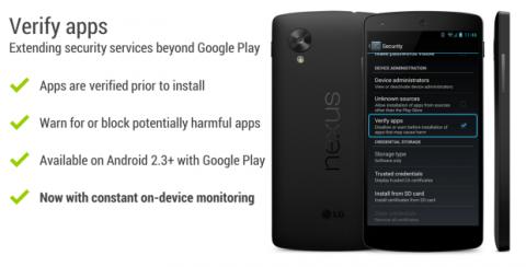 verificación apps android