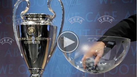 Dónde ver online sorteo de Champions League y Europa League