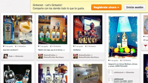 Ginterest, primera red social para los amantes del Gin Tonic