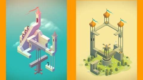 Monument Valley, la última maravilla visual de la App Store, un juego homenaje a M.C. Escher