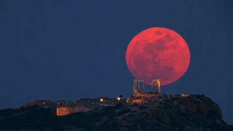 Dónde ver el eclipse de la Luna de Sangre el 15 de abril en directo